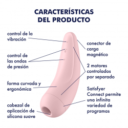 Satisfyer Curvy 2+ Rosa