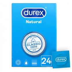 Durex Natural 24 Uds