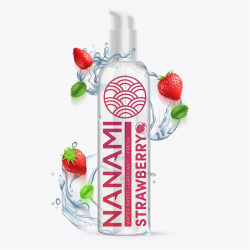 Nanami Lubricante Base Agua Fresa