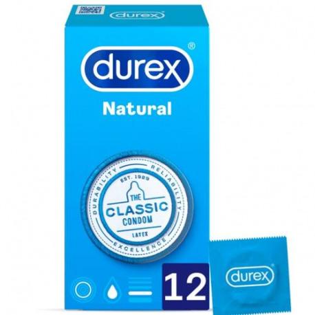 Durex Natural 12 unidades