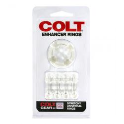 Colt Enhancer Anillos Pene Transparentes