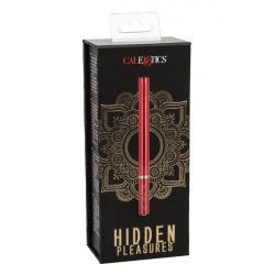 Hidden Pleasures Vibrador Rojo