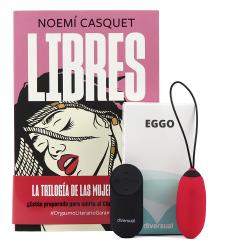 Kit Libro Libres + Eggo Huevo Recargable