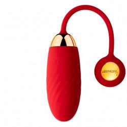 Huevo Vibrador Ella Neo Rojo con App