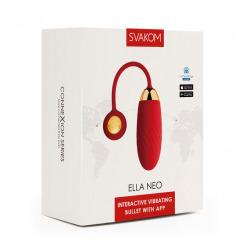 Huevo Vibrador Ella Neo Con App Rojo Svakom