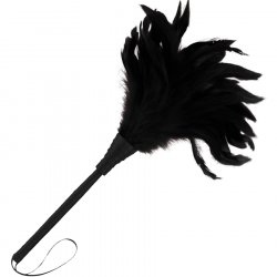 Pluma Estimuladora Negra Darkness