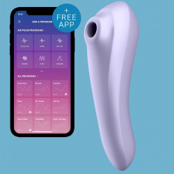 Satisfyer Dual Pleasure Air Pulse Malva