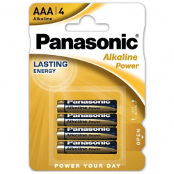 Batteries alcalines AAA-LR03 4 Pc