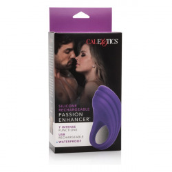 Purple Rechargeable Vibrator Ring