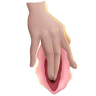 Técnica masturbación femenina