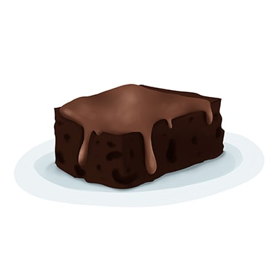 Brownie efecto Wow