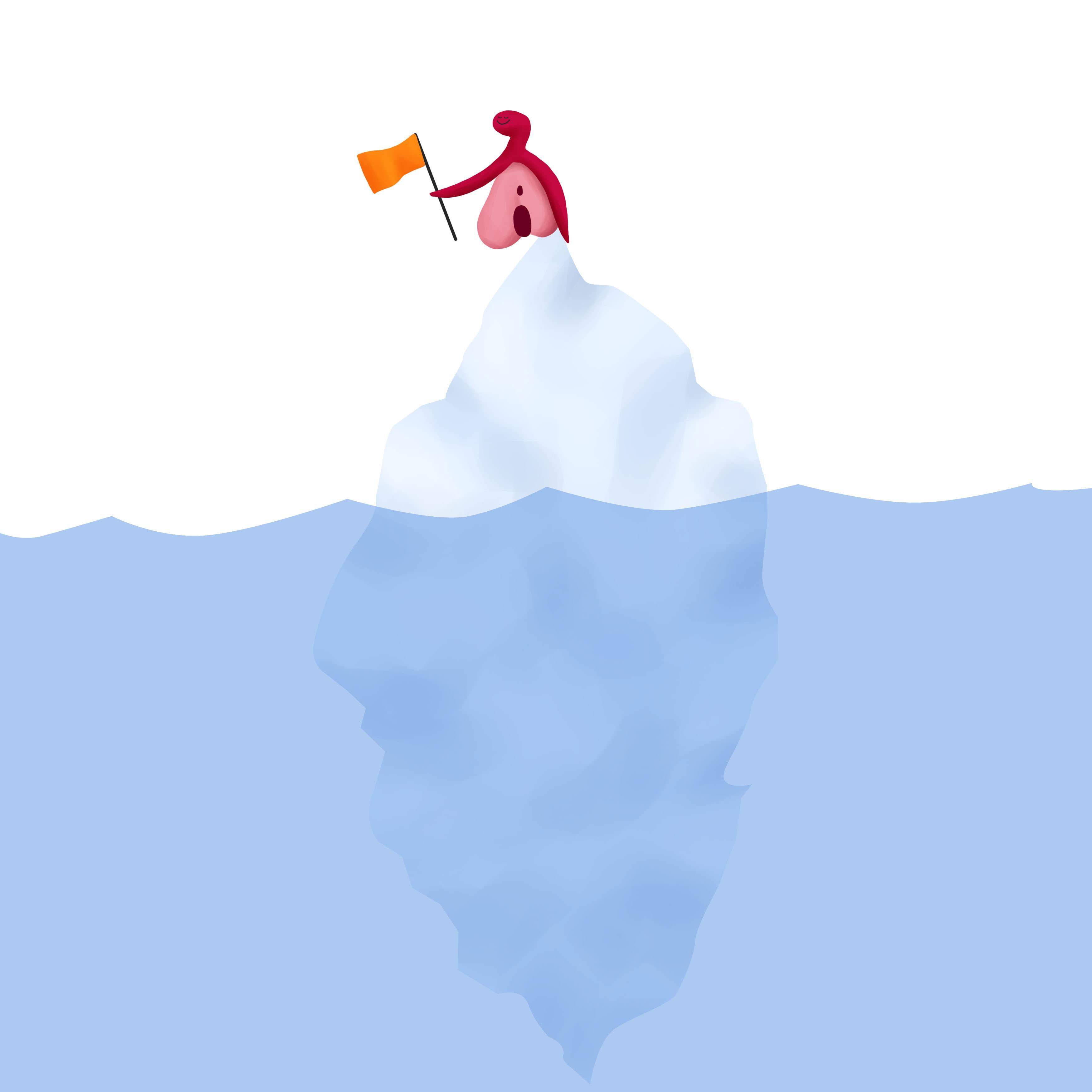 Iceberg de orgasmos