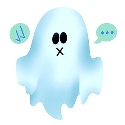Ghosting para acabar con las relaciones