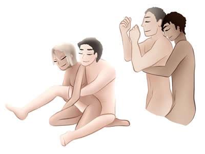 Parejas que disfrutan del sexo anal