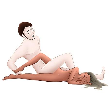 Postura de la tijera