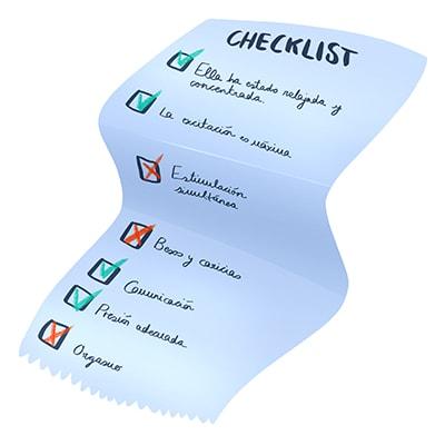 Checklist sobre tu cunnilingus