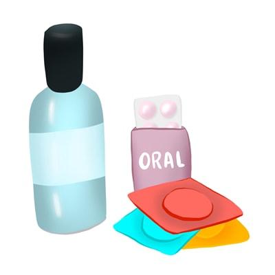 Preservaticos y lubricantes de sabores
